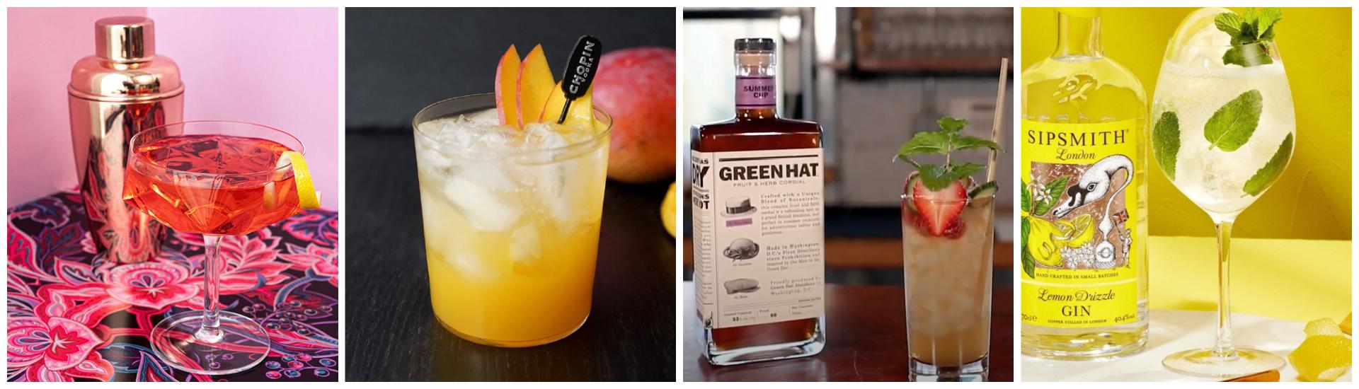 Summer Cocktail Carousel